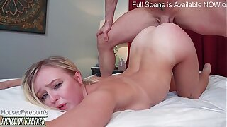 18 year senior Picked Up and Fucked Natalia Goddess
