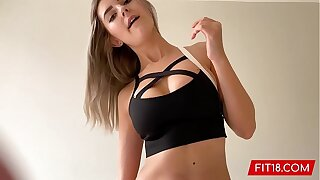 FIT18 - Eva Elfie - 44kg - Casting Shy Youthful Teenage With Big Natural Tits