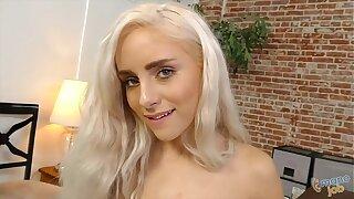 Naomi Woods Casting Couch Handjob