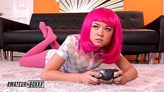 Inexperienced Boxxx - Gamer Girl Lulu Chu Forced Orgasm By Step-Bro